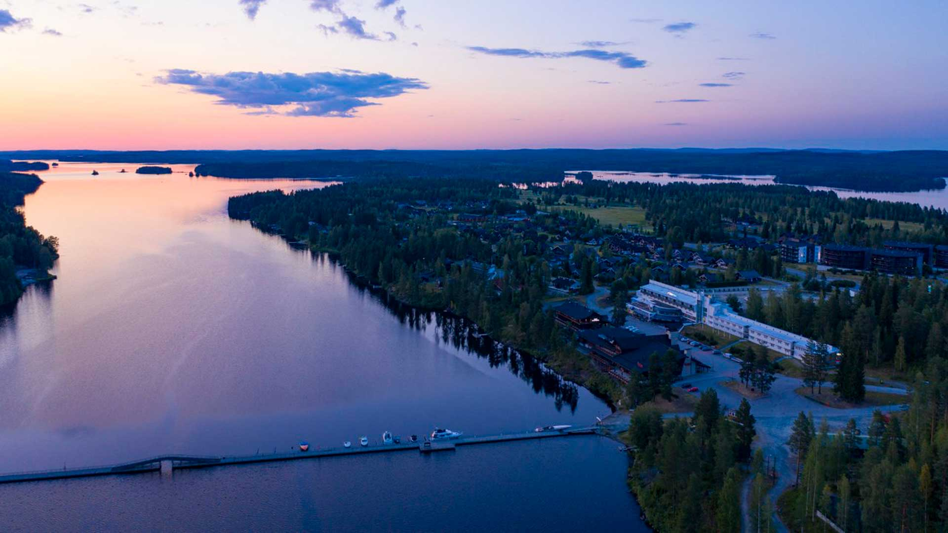 Break Sokos Hotel Tahkolle Sustainable Travel Finland -merkki